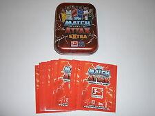 "Match Attax Extra 2013/14:"" Mini-Tin (leer) + 25 Basiskarten """