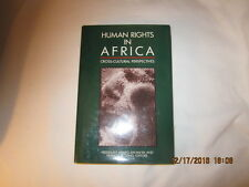 Human Rights in Africa : Cross-Cultural Perspectives (1990, Hardcover)