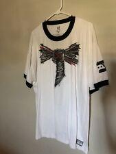 CM PUNK Best Since Day One Mens White Ringer T-shirt XXL