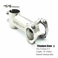 TITO Ultralight Gr5 Titanium MTB Bicycle Road Bike Stem 5 Degrees 31.8mm 25.4mm