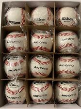 Wilson A1010PRO High School/College NFHS Stamped Game Baseball (1 Dozen)