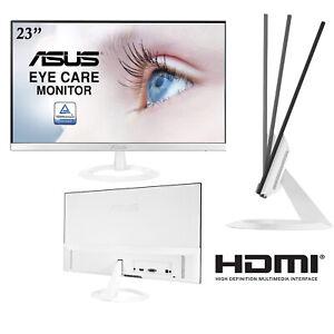 "ASUS VZ239HE-W Monitor 23 "", FHD (1920x1080), IPS, Design Fine, HDMI, Sub, Blanc"
