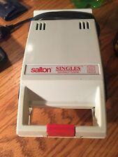 "Salton ""Singles"" Sandwich Maker Toaster !"