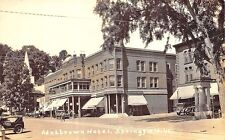 Springfield VT A&P Street View Grocery Store Hotel Old Cars Postcard