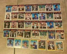 1986 New York Mets World Champions Complete Team Set 39 Cards w/ All Star etc