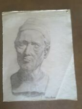 JOHN PLUMER LUDLUM (1906-1993) Original Pencil Portrait Drawing. Signed