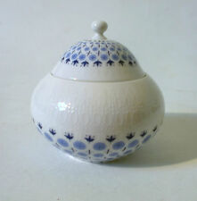 "Zuckerdose groß Rosenthal ""Romanze"" secunda blau Wiinblad sugar bowl annees 60"