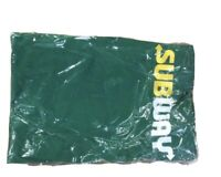 (3) Original Subway Employee Apron - One Size Fits All, Green Worker-Lot of 3