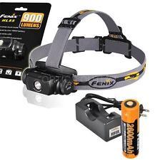 Fenix HL55 900 Lumens Rechargeable Headlamp w/ Fenix 2600mAh 18650 & Charger