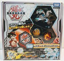Bakugan Japanese Howlkor Ultra DX, Dragonoid, Pegatrix Starter Set Battle Planet