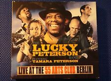 Lucky Peterson Band Feat. Tamara Peterson - Live At The 55 Arts Club Berlin 2CDs