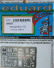 Eduard 1/72 SS621 Zoom Etch for the Special Hobby Kittyhawk Mk Ia (P-40E) kit