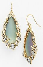 NEW Alexis Bittar Azure Blue Imperial Framed Drop Earrings