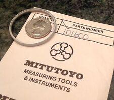 Mitutoyo Mti Gage Gauge Dial Bezel Ring 101600 Knurled Machine Shop Part