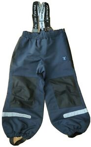 Immaculate Polarn O. Pyret 2-3 years toddler shell waterproof kids trousers eco