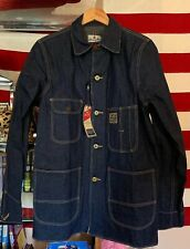 Men's Wrangler Blue Bell Chore Worker Blue Color Coat All Cotton Jacket. NWT.