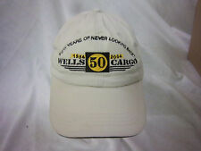 trucker hat baseball cap WELLS CARGO  retro cool cloth rare 1980