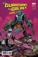 ALL-NEW GUARDIANS OF THE GALAXY ANNUAL #1 MARVEL 2017 VARIANT COVER B  MORA