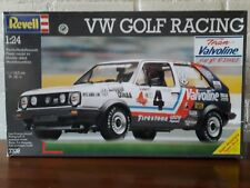 Revell 1:24 No: 7339 VW Golf II Racing Valvoline 'Rare' Plastic Modelkit (1991)
