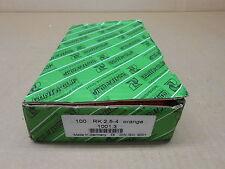 100 NIB CONTA CLIP RK2.5-4 RK254 RK-2,5-4 RK2,5-4 1001.3 TERMINAL BLOCKS