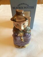 ROYAL DOULTON NEW BESWICK BEATRIX POTTER THIS LITTLE PIG HAD NONE BOXED NEW