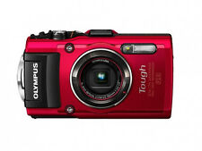 *NEW* Olympus TG-4 16 MP Waterproof Digital Camera with 3-Inch LCD (Red)