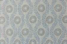 """COLEFAX AND FOWLER CURTAIN FABRIC DESIGN """"Swift"""" 3.7 METRES BLUE 100% LINEN"""