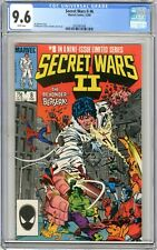 Secret Wars ll  #8  CGC  9.6  NM+  White pgs   #8 in a  9 issue limited series