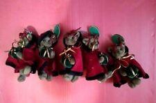 Retired Bearington Bears 5 christmas Ornament Patti Present