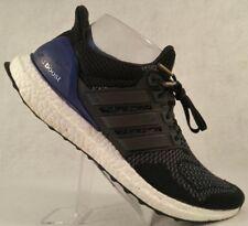 Adidas Ultra Boost 1.0 OG Black Purple Primeknit B27172 Running Shoes Wmn 9/Mn 8