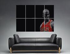 "Michael Jordan ""Change The Game"" Wall Art Poster Grand format A0 Large Print"