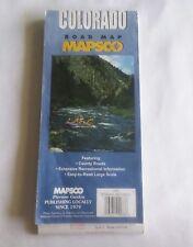 2002 Mapsco Colorado Road Map