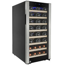 38 Bottles Single Zone Compressor Touch Control Freestanding Wine Cooler Chiller