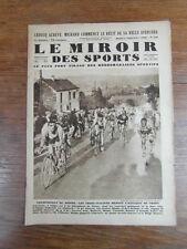 LE MIROIR DES SPORTS No 558 année 1930 : BINDA champion du monde Cyclisme