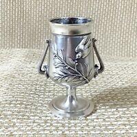 Ancien Christofle Cure-Dents Support Vase Urne Victorien Esthétique Mouvement