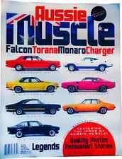 Aussie Muscle Magazine Falcon GT Torana SLR SS Monaro GTS Charger Ford Cobra
