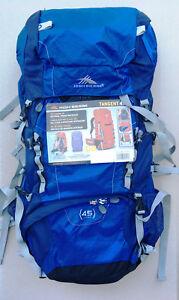 High Sierra Tangent 45 Top-loading Internal Frame 45L Camping Hiking Backpack