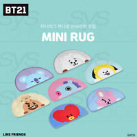 BTS BT21 Official Authentic Goods Baby Mini Rug By Narahome + Tracking Number