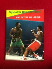 "1971, Muhammad Ali, ""SPORTS ILLUSTRATED"" Magazine (Scarce / Vintage)"