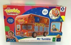 Mr Tumble Something Special Wooden Shape Sorting Bus Light & Sound Age 18m+