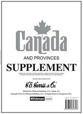 Harris 2005 Canada and Provinces Stamp Supplement Pages - NEW FACTORY SEALED!