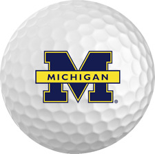 Michigan Wolverines Titleist ProV1 Refinished Ncaa Golf Balls 12 Pack
