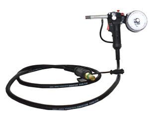 Aluminum Spool Gun Fit Miller 300371 Millermatic 140 180 211 Spoolmate 100 Torch