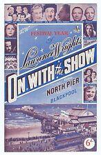 NORTH PIER BLACKPOOL SUMMER 1951 BEN WRIGLEY JOHN & RENE ARNAUT FIVE SKYLINERS