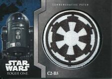 Star Wars Rogue One Mission Briefing Commemorative Patch Card MP-13 C2-B5 - Emp