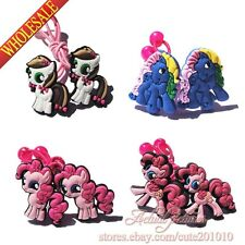 16pairs Little Pony Hair Ropes girl hair pin accessories stick decoration gifts