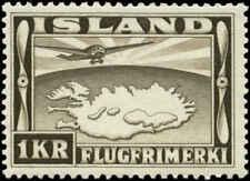 Iceland  Scott #C19 Mint Never Hinged