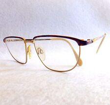 Vintage RODIER MR231 eyeglasses frames gold metal made in Germany
