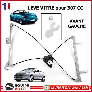 PEUGEOT 307CC 307 CC CABRIOLET Mecanisme de Leve Vitre Avant Gauche Chauffeur