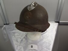 8)Frankreich militaire francais Adrian-Helm WW II casque regis ultima Artillerie